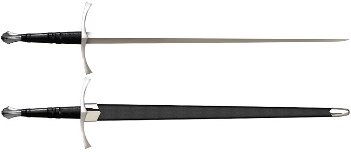 Steel-long-sword