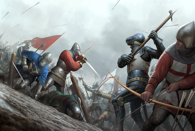 battle of agincourt - Medieval Battles