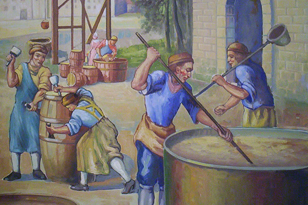 medieval brewering - Beer in the Middle Ages