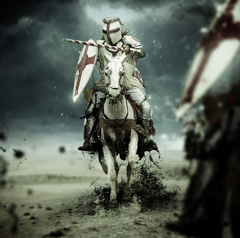 medieval knight on horse - How to be a knight in the Middle Ages?