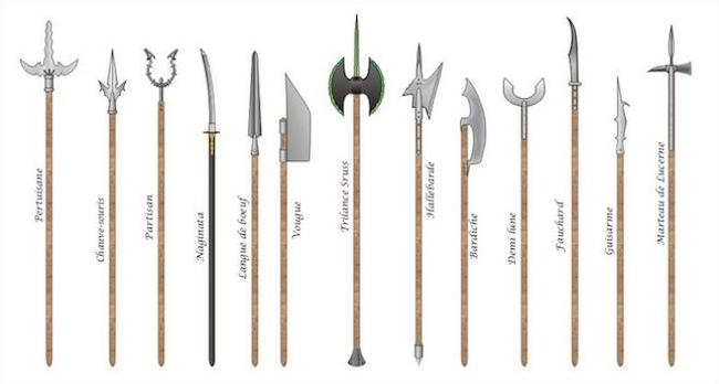 polearm familly 1 - Effective Medieval Weapons