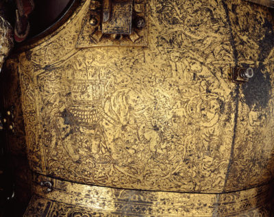 King of England armor 400x317 - How expensive was medieval armor?