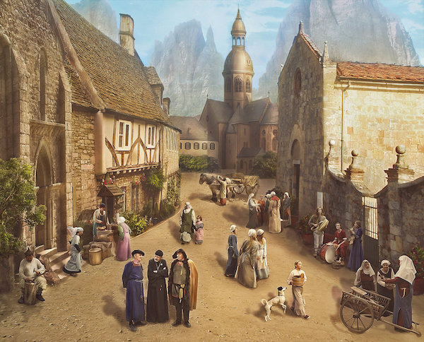 Medieval sunday in the village 1 - The growth of the cities