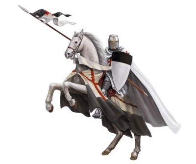 medieval knight 400x336 - What weapons did medieval knights use?